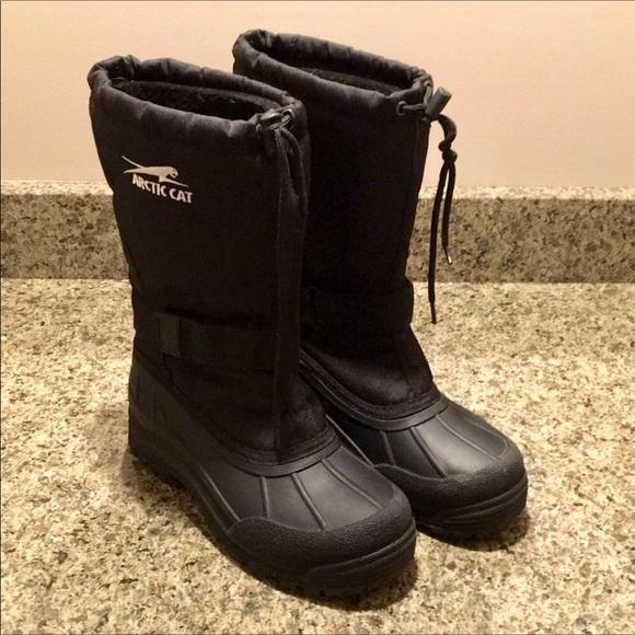 a68626789dec Arctic Cat Shoes - Women s Arctic Cat Black Winter Snow Boots
